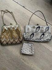 Bundle of Vintage Beaded Bags/Purses