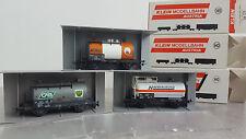 KLEIN modellbahn Lot de 3 Wagons citerne SNCF / SNCB / OBB COMME NEUF EN BOITE