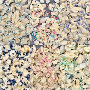 Biodegradable Dried WEDDING CONFETTI Dried IVORY FLUTTER FALL Real Petals