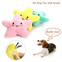 Pet Dog Soft Chew Toy Puppy Doggy Plush Sound Squeaky Squeaker Interactive Toys