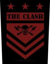 More details for official licensed - the clash - military shield back patch punk rock strummer