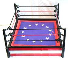 TITLE FIGHT RING • ROCKY vs APOLLO • JAKKS PACIFIC ROCKY ACCESSORIES