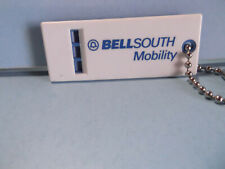 "Old Unique Collectible Keychains 2.75""in Plastic BELLSOUTH Mobility Whistle"