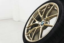 New BMW F80 F82 F83 M3 M4 Frozen Gold 763M Wheels and Tyres Set 36112459540