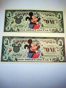 disney dollars special edition