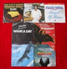 """7 Singles Single 7"""" Sammlung von FRANK DUVAL - TOP ZUSTAND! Vinyl Schallplatten"""