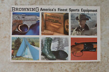 1960's Browning America's Finest Sports Equipment Vintage Booklet MINT!