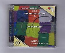 SACD DSD (NEW)GORDON GETTY N.MARRINER ORCHESTRAL WORKS