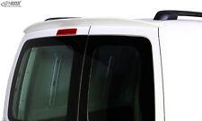 RDX Dachspoiler VW Caddy 1T 2K geteilte Heckklappe Dach Heck Spoiler Flügeltüren