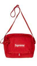 New in Sealed Bag Supreme Red Cordura Shoulder Bag SS19