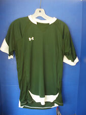UA~Under Armour~Green & White HEATGEAR Short Sleeved SOCCER SHIRT~Small~NWT