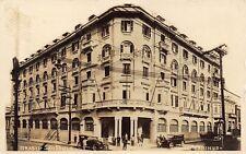 BRAZIL - RARE! 1920's REAL PHOTO Hotel Terminus Sao Paulo, BRASIL