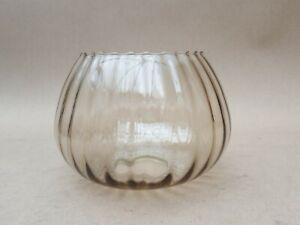 Vintage Tulip Glass Oil Lamp, Light Shade