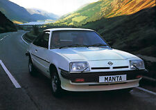 Opel Manta A & B series press photo collection 1970-1988 inc GT/E, 400, SR ect
