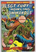 Sgt Fury #117 ORIGINAL Vintage 1974 Marvel Comics