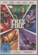 Free Fire DVD NEU Armie Hammer Brie Larson Cillian Murphy Jack Reynor Sharlt