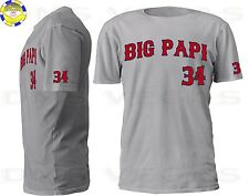 Boston Red Sox David Ortiz Big Papi Jersey Tee T Shirt Men Size S-5XL