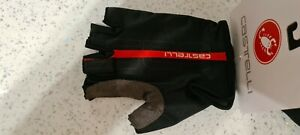 Black Castelli TEMPO Cycling Gloves mitts Size Large
