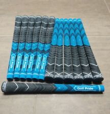 13x Golf Pride MCC Plus 4 Multicompound Golf Grips Blue Standard set
