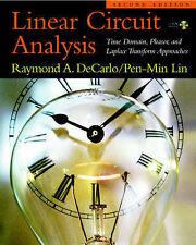 (Good)-Linear Circuit Analysis, 2nd Ed. (Hardcover)-Lin, Pen-Min,DeCarlo, Raymon