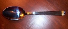 "Christain Dior GAUDRON GOLD Stainless 8 5/8"" Table Spoon"