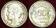 FRANCE 50 centimes 1940