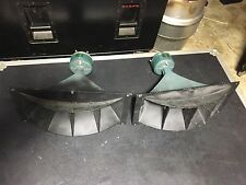 Altec 811b Horns With 806a  Drivers - 16 Ohm - Pair - Nice!