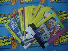 NEW WACKY PACKAGES GO TO THE MOVIES SMALL SCREEN STICKERS COMPLETE BONUS SET 20