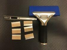 Window Film Tint Tools kit 3 -   6 Razor  1 knife  1 squeege blue max