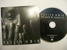 PETITE NOIR The King Of Anxiety EP – 2015 UK CD PROMO – Electronic, Rock BARGAIN