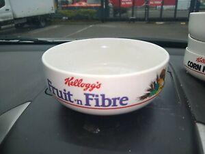 Kellogg's Fruit n Fibre cereal bowl, 1987, retro,  see pics