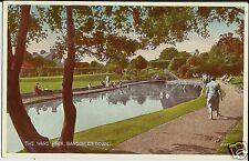 The Ward Park, Bangor, County Down, N Ireland, on mint colour photo postcard