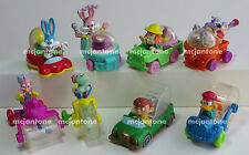 LOOSE SET 8 McDonald's 1992 TINY TOON ADVENTURES Wacky Rollers COMPLETE Toys