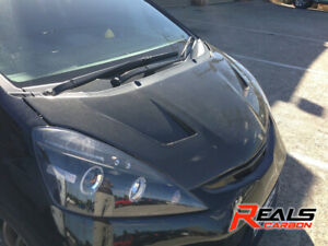 Honda Jazz / Fit GE Super Light Dry Carbon Fiber Bonnet Bodykit