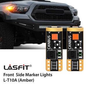 T10 168 194 LED Front Side Marker For GMC C1500 1990-1999 C2500 C3500 1990-2000