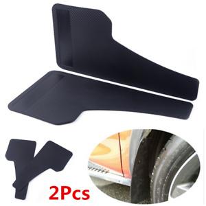 2x Universal Racing Car Mudflaps Wheel Moulding Fender Plastic Guard Accessories