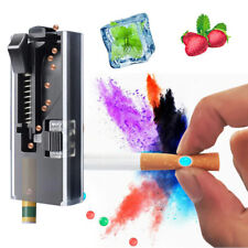 Click On Cigarette Flavor Pops Bead Injector Liquid Mint Taste Burst Capsule DIY