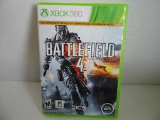 Battlefield 4 Microsoft Xbox 360 2013 Video Game Complete With Manual