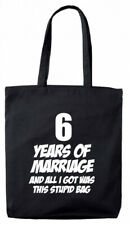 6 Years Marriage Gift Bag, 6th Wedding Anniversary gifts presents for her wife