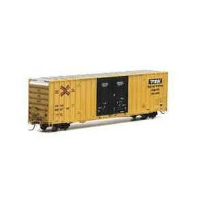 ATH75122 HO RTR 60' Gunderson DD HC Box TBOX/TTX Black num1