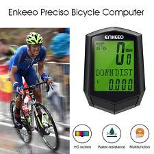 Wireless Bicycle Odometer Bike Bicycle Computer Speedometer Pedometer Waterproof