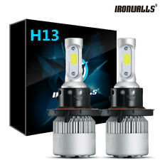 1300W 3 Sides LED Headlight Kit H13 9008 Hight/Low Beams HID 6000K Lamp Bulb