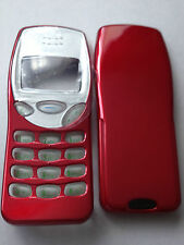 MOBILE PHONE FASCIA HOUSING COVER & KEYPAD FOR NOKIA 3210 - GLOSSY RED DESIGN