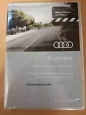 Aktion!Audi Navigations DVD Europa 2018 MMI2G Navigation Navi DVD A4 A5 A6 A8 Q7