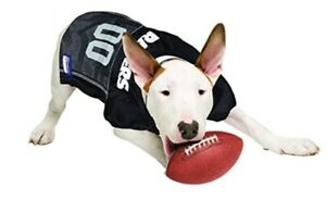 PET NFL Oakland Raiders dog jersey MESH SIZE L