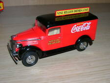 GMC VAN 1937 COCA COLA   1/43  MATCHBOX YPC02  without box
