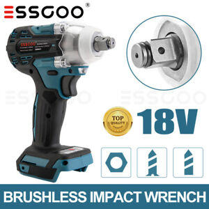 """Replace for MAKITA Impact Wrench Cordless Brushless 18V 1/2"""" Driver New"""