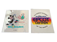 Disney World 20th Annervisary & Epcot Original Stickers
