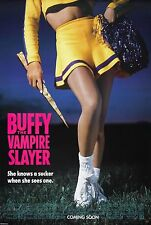 BUFFY THE VAMPIRE SLAYER (1992) ORIGINAL ADVANCE MOVIE POSTER  -  ROLLED