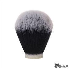 Maggard Razors 26mm Black & White Synthetic Shaving Brush Knot Only